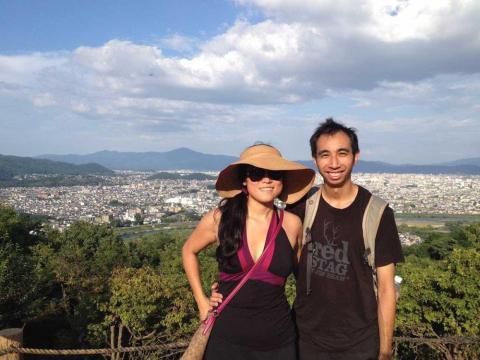 Shen y Leung en Japón.