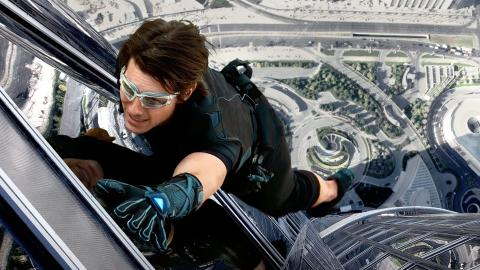 """3. Tom Cruise as Ethan Hunt in """"Mission: Impossible — Ghost Protocol"""""""