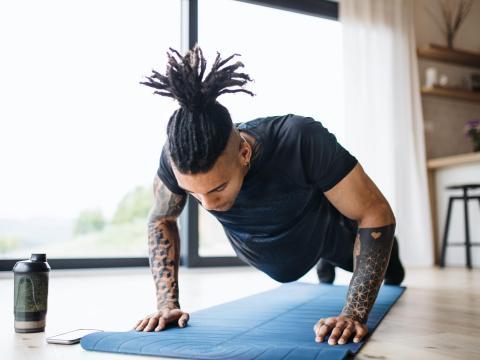 Do an at-home workout.