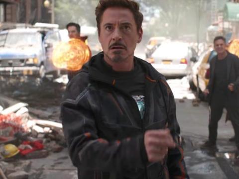 "4. Robert Downey Jr. as Tony Stark/Iron Man in ""Avengers: Infinity War"""