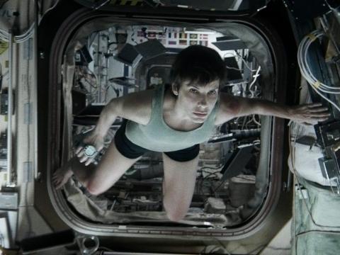 """5. Sandra Bullock as Dr. Ryan Stone in """"Gravity"""""""