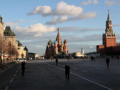 AFTER: According to Reuters, Moscow put special safety measures in place at tourist attractions and hotels as early as January 28.
