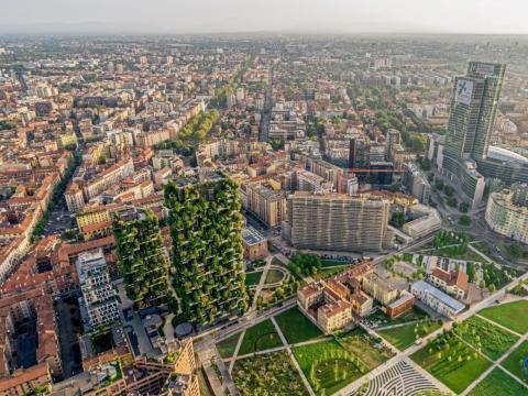 'Bosco Verticale' en Milan.