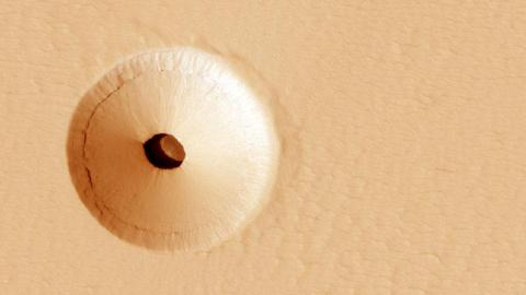 Agujero en Marte
