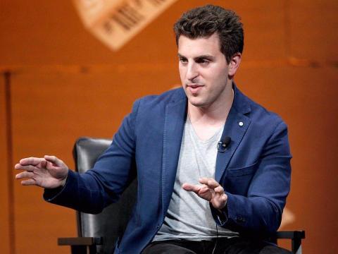 El cofundador y CEO de Airbnb, Brian Chesky.
