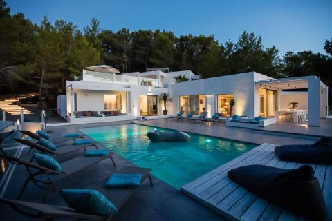 Airbnb de lujo.