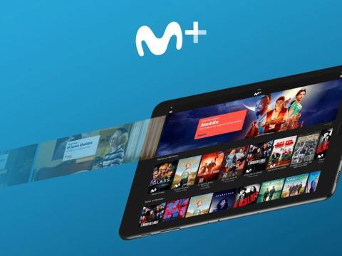 Aplicación de Movistar+.
