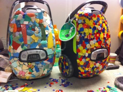 Aspiradoras Electrolux elaboradas plástico del océano.