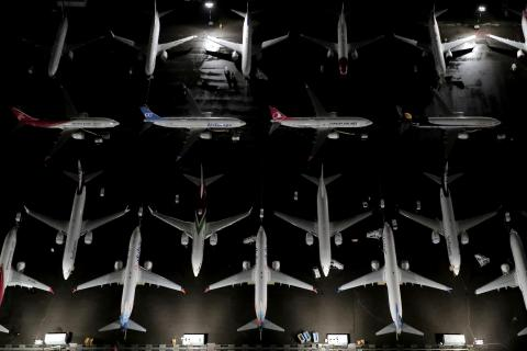 Aviones hangar