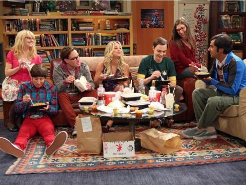 """""""The Big Bang Theory."""""""