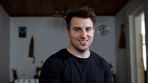 Brian Chesky, CEO y fundador de Airbnb.
