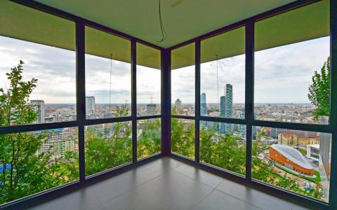 """Un apartamento dentro de """"Bosco Verticale""""."""