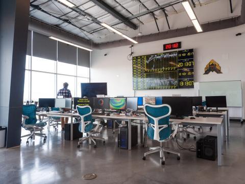 Centro de control de World View en Arizona.