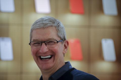El CEO de Apple, Tim Cook, en una imagen de archivo