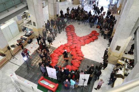 La ciudad de Madrid impulsa la Declaración de París para la lucha contra el VIH en 2018.