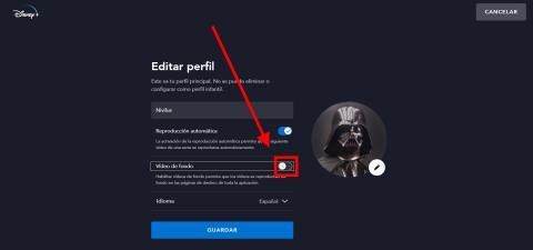 Cómo desactivar la reproducción automática de tráilers en Disney Plus