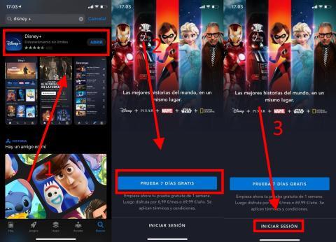 Cómo descargar e instalar Disney Plus en el móvil o tablet