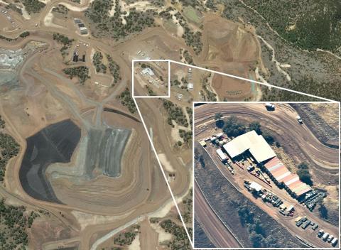 Comparativa entre una foto de satélite de Google Earth y una tomada por un Stratolliter de World View.