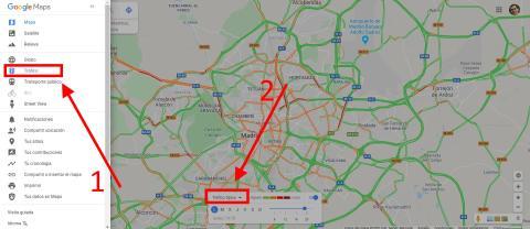 Conoce el tráfico habitual a cualquier hora del día en Google Maps