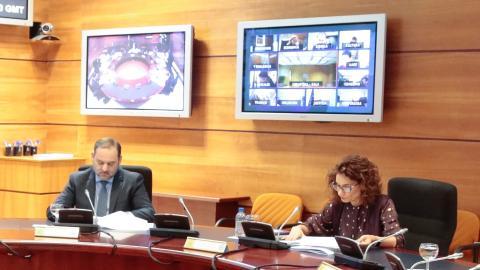 Consejo de Ministros virtual.