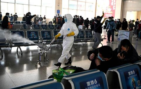 The coronavirus began in China, which has a relatively porous border with North Korea.