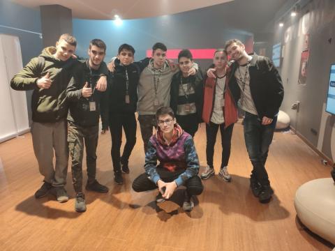 Cybex, hackers jóvenes que acudieron a la Hacker Night de la RootedCON.