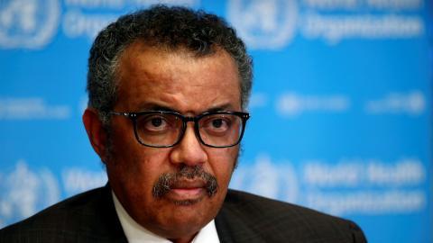 El doctor Tedros Adhanom Ghebreyesus, director general de la OMS.