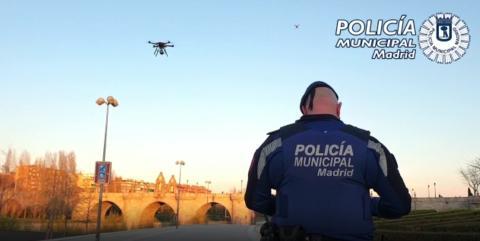 Drones de la Policía Municipal