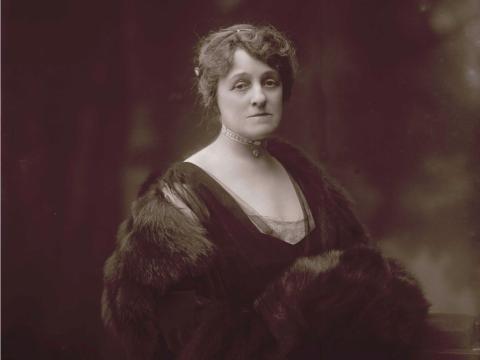 Edith Wharton (1862-1937).