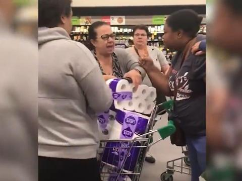 Elsewhere in Australia, the fight for toilet paper got heated. On March 6 a fight over toilet paper at a supermarket in Chullora, a suburb outside Sydney, got so bad that police had to intervene.