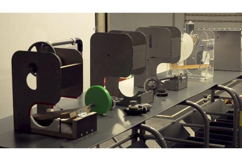 Estructura de los respiradores de Seat.