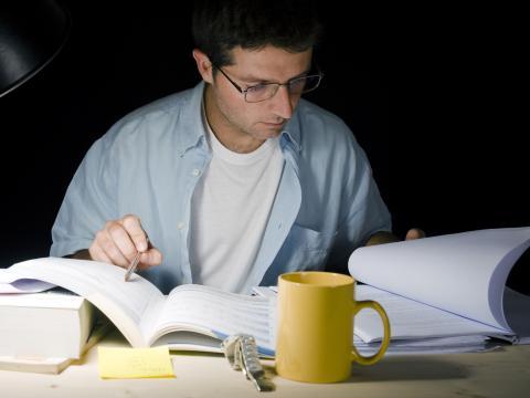 estudiar noche