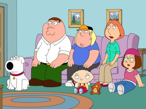 """""""Family Guy."""""""