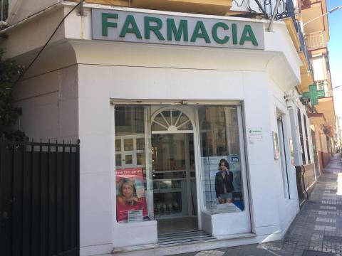 La farmacia de Marga, en Málaga.