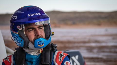 Fernando Alonso primer test coche Dakar 2020