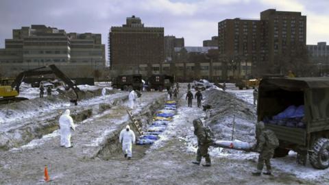 """Fotograma de la película """"Contagio"""" de 2011 dirigida por Steven Soderbergh."""