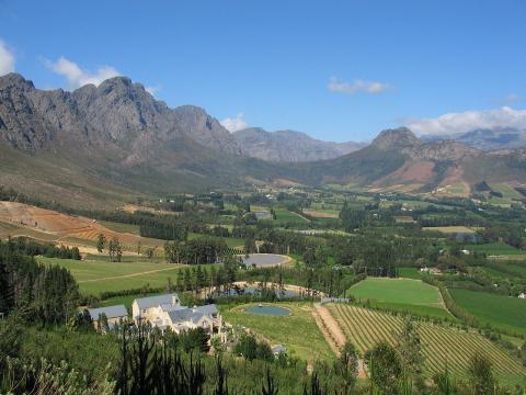 Franschhoek Sudáfrica