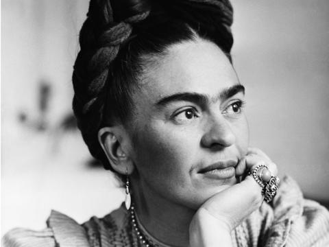Un retrato de Frida Kahlo.