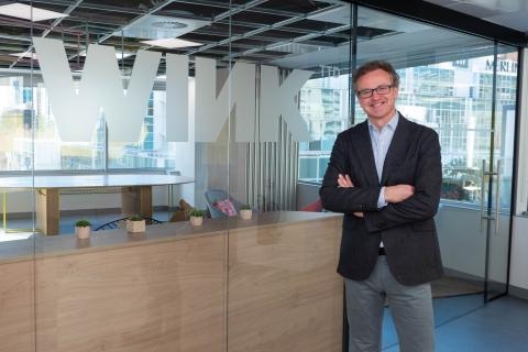 Gabriel Saenz de Buruaga, fundador y co-CEO de Wink.