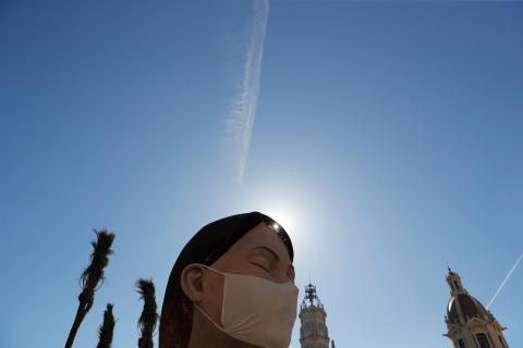 La Generalitat Valenciana pospuso la celebración de las Fallas por la crisis del coronavirus