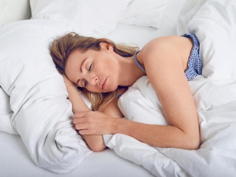 Prepararse para ir a la cama lleva un proceso de media hora.