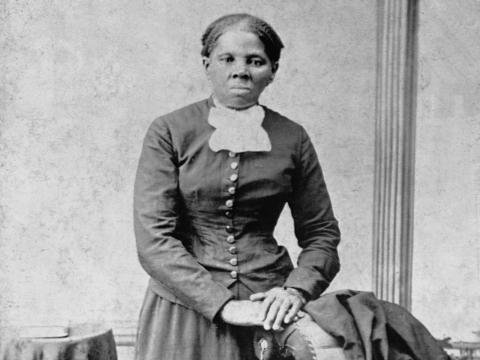 Un retrato de Harriet Tubman (1820-1913).