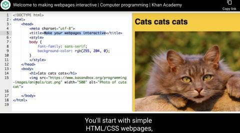 HTML/JS: Making webpages interactive