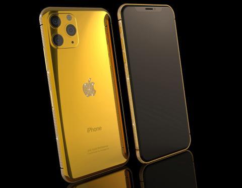 iPhone 11 Pro de oro