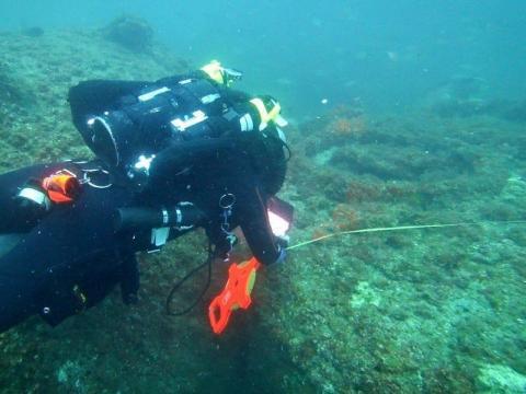 Los investigadores se sumergen para descubrir más sobre los restos del 'SS Cotopaxi', que desapareció hace casi 100 años.