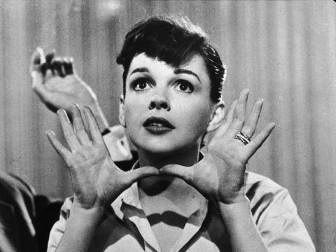 Judy Garland en los 50.