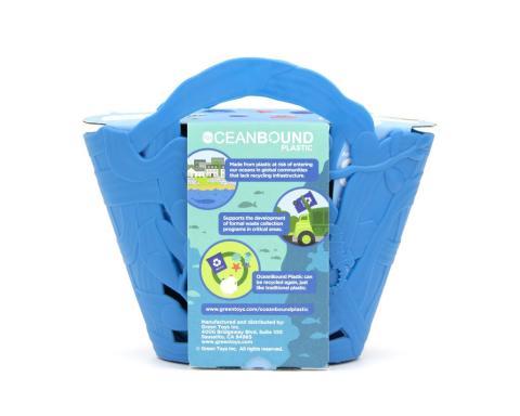juguete plástico reciclado basura marina