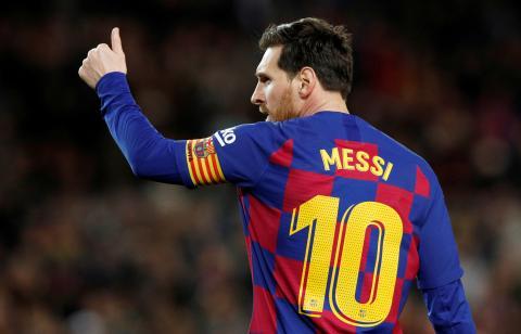 Lionel Messi, jugador del FC Barcelona.