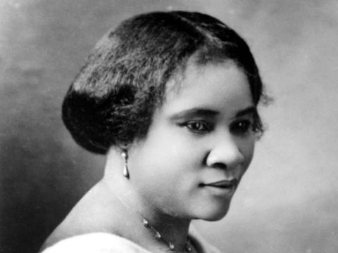 Madam C.J. Walker en 1914.