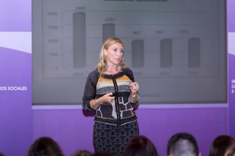 La periodista, CEO y socia de Comunicación de Valor Añadido (CVA) Marisa Cruzado.